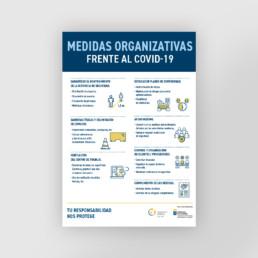 Medidas organizativas frente al covid